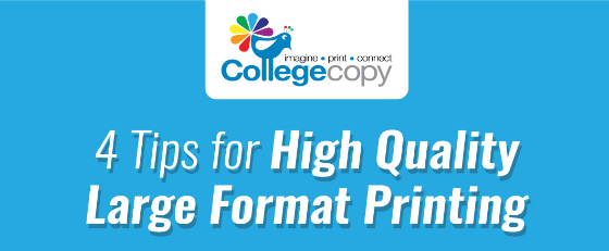 High Quality Large Format Printing