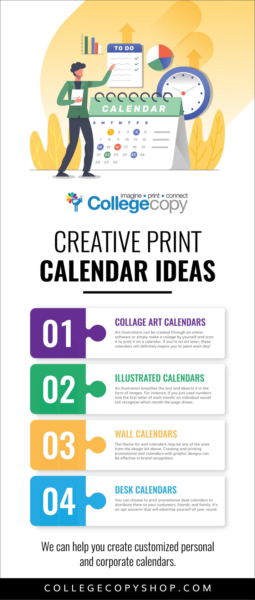 Creative Print Calendar